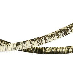 Feestslinger goud (4m)